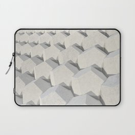 Pattern of concret hexagonal elements Laptop Sleeve