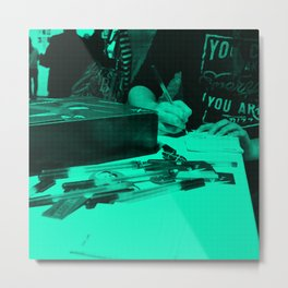 A Message to Larry Metal Print