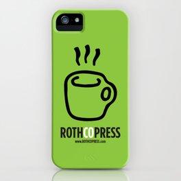 Rothco Press Logo iPhone Case