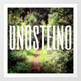 UNOSTEINO Art Print