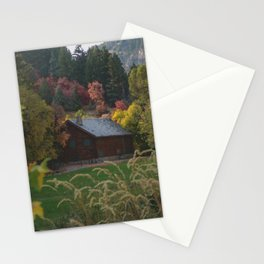 Nature Mountain Landscape Stationery Cards