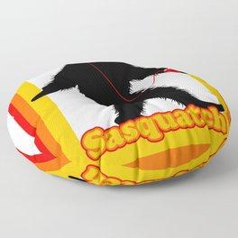 Retro Sasquatch Floor Pillow