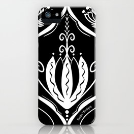 Large Scale Floral iPhone Case