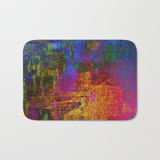 abstract tapestry Bath Mat
