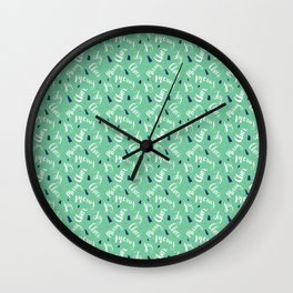 Holiday Cheers Wall Clock