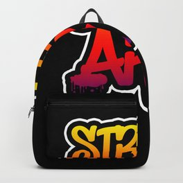 Graffiti Street Art Backpack