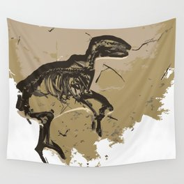 Dino Fosil Wall Tapestry