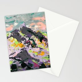 Fantasy Mountain Stationery Cards