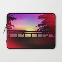 Warm Summer Nights at Dusk Laptop Sleeve