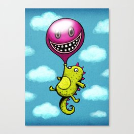 BubbleCroco Canvas Print