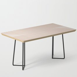 Minimal Line Curvature - Coral II Coffee Table