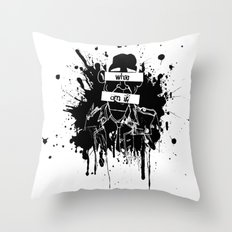 GuessWho? *remastered* Throw Pillow