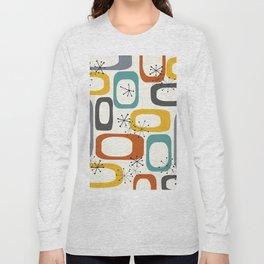 Mid Century Modern Shapes 02 #society6 #buyart Long Sleeve T-shirt