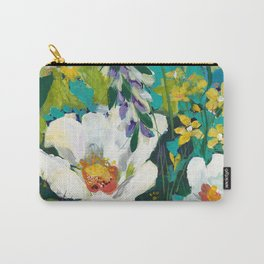 Poppy Clouds Carry-All Pouch