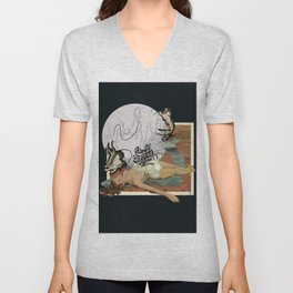 maggie and the moon Unisex V-Neck