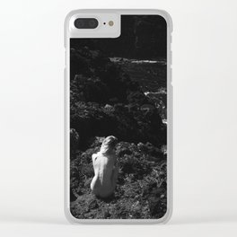 Volcanic View Clear iPhone Case