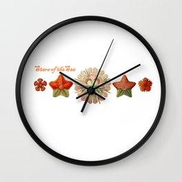 Stars of the Sea Wall Clock