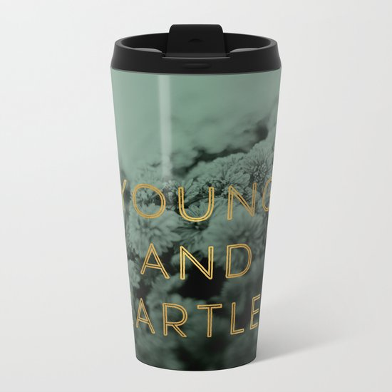 Heartless Metal Travel Mug