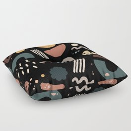 Geo Shapes Luxe Floor Pillow