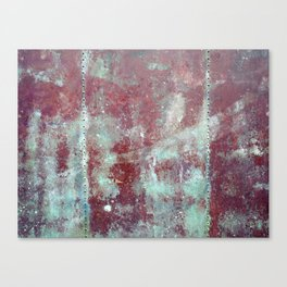 Background. Grunge and rusty metal surface Canvas Print