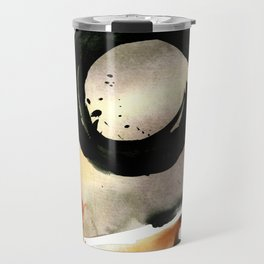 Enso Abstraction No. 105 by Kathy morton Stanion Travel Mug