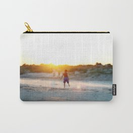 """""""Beach Play, Tybee Island, Georgia"""" by Simple Stylings Carry-All Pouch"""