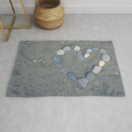 Stone Heart Rug