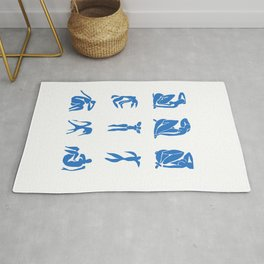 Collage Cut- Outs Matisse Rug