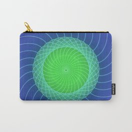 Ripples Mandala Carry-All Pouch
