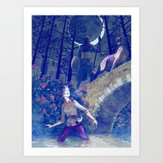 The Moon of Gomrath Art Print