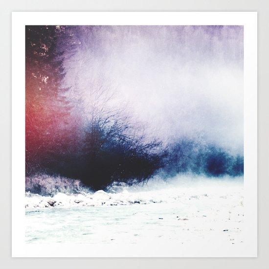 Pastel Vibes Art Print