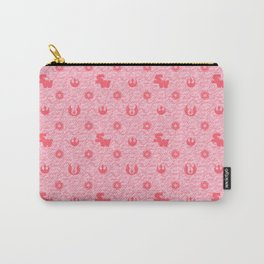 I Love You, I know. Star Wars Pillow Art in Pink Carry-All Pouch