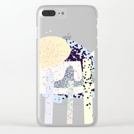 Tropical Iceland Clear iPhone Case