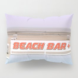 Beach Bar near the Ocean Pillow Sham