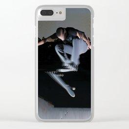 Flip Trick Clear iPhone Case