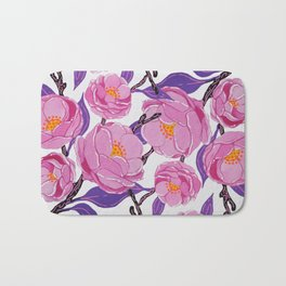 Flower study Bath Mat