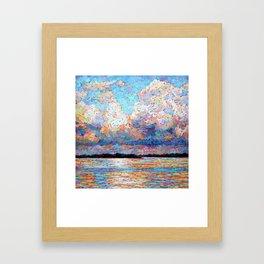 Sunset Time Framed Art Print