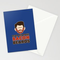 Bacon Beard (men's version) Stationery Cards