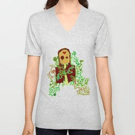 The Diseased Minds of the Dead Unisex V-Neck