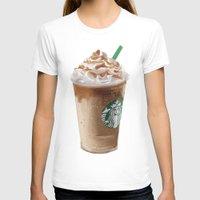 starbucks T-shirts featuring Starbucks clean by Amit Naftali