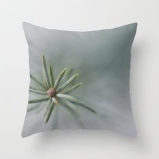 Poking Out of the Snow Throw Pillow