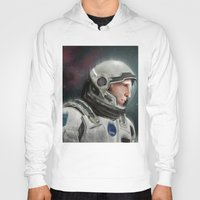 interstellar Hoodies featuring Interstellar by San Fernandez