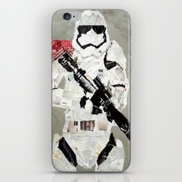 FIRST ORDER STORM TROOPER iPhone Skin