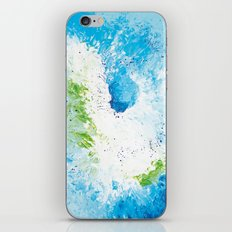 Abstract painting iPhone & iPod Skin