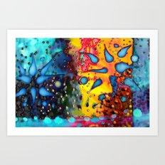 RAINFALL Art Print