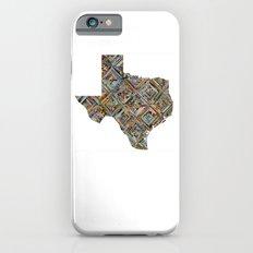 Map of Texas Slim Case iPhone 6s