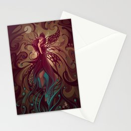 Embrace the night Stationery Cards