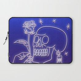 Flowers to skull Laptop Sleeve