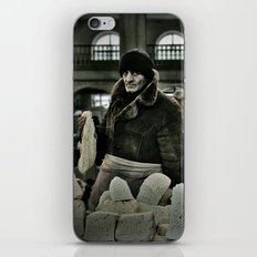 Cheese Seller iPhone & iPod Skin
