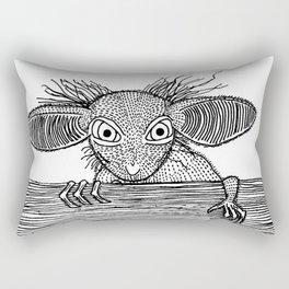 Aye Aye Rectangular Pillow